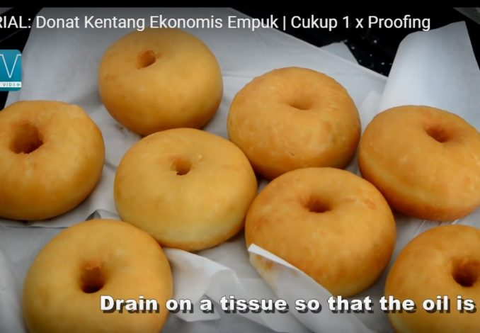Donat Kentang Ekonomis 1 X Proofing The Hasan Video